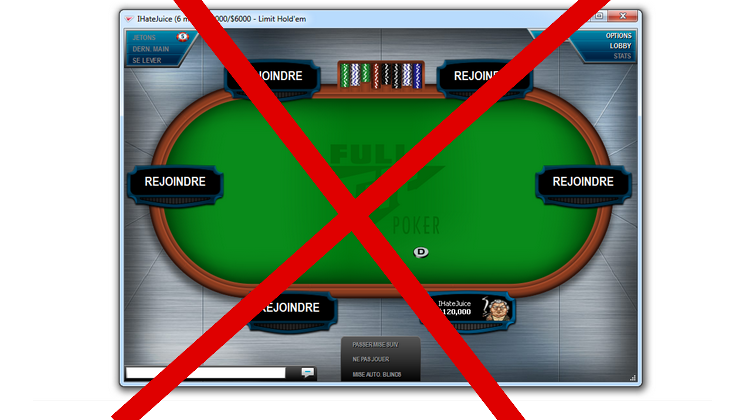 IHateJuice demande à FTP de retirer sa table high stakes