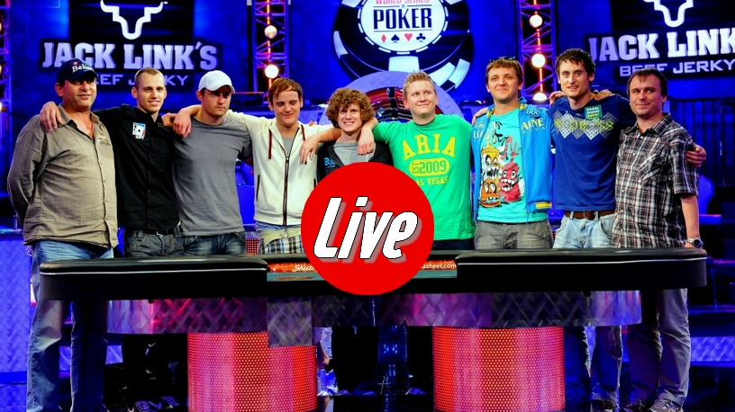 WSOP 2011 – Main event : La table finale en direct live stream