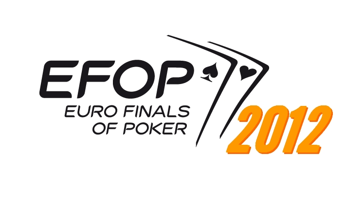 ACF Poker, Euro Finals Of Poker 2012, le programme (Schedule)