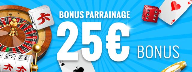 Bonus parrainage Carousel.be