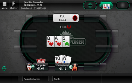 Everest Poker sur iPad