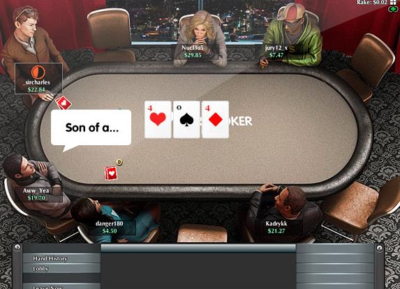salle de poker Europoker