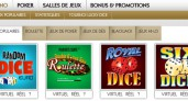 Golden Palace en ligne : poker et casino de Belgique
