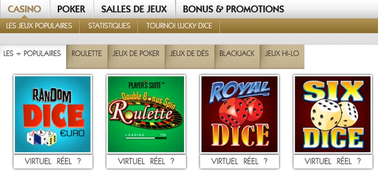 Play casino on mobile