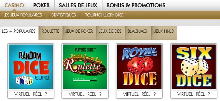 Jeux poker en ligne belgique