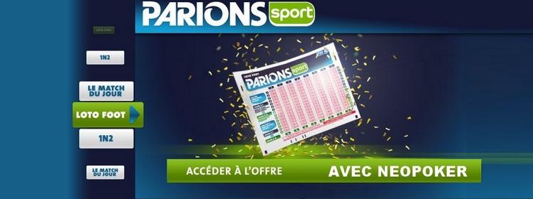 Offre parions sport 100 - Grille parions sport pronostics ...