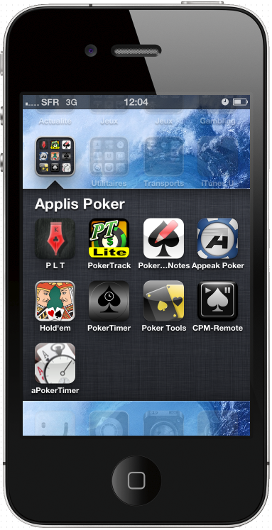 Applis Poker sur IPhone
