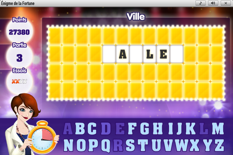 Enigme sur GameDuell