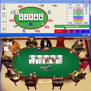 Logiciel assistant poker