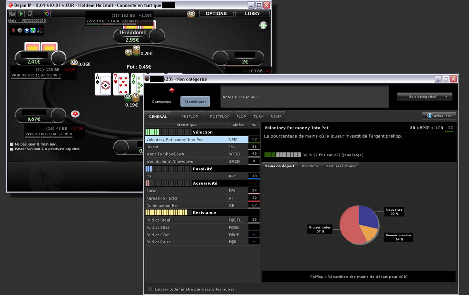 Tracker poker Xeester