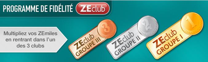 ZEclub : meilleures réductions pour 2013