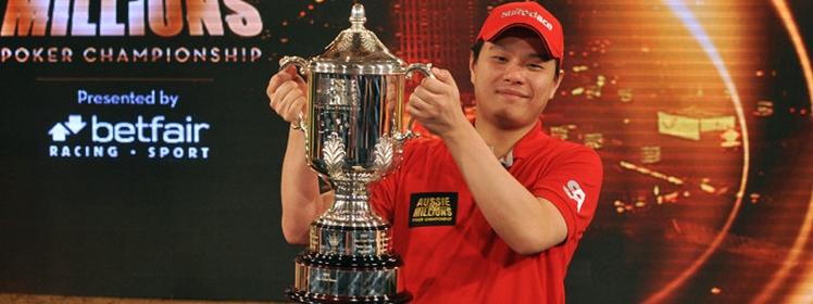 Mervin Chan remporte l'Aussie Millions 2013