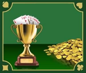 Tournoi de belote en argent réel, à vous les euros et le trophée