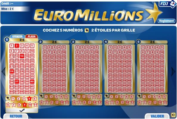 Euro Millions en ligne