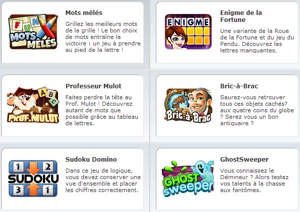 Skill7, GameDuell ou GameTwist : le match  Skill7, GameDue...