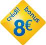 8 euros offerts fdj