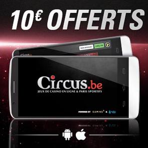 Bonus mobile Circus.be