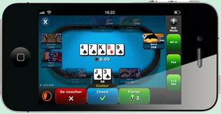 pmu poker mobile screen