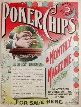 Poker chips magazine de 1896