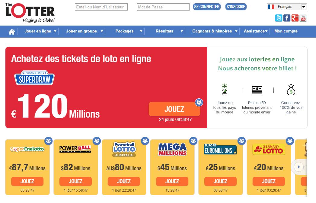 the lotter loto en ligne