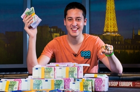 Adrian Mateos Vainqueur Main Event WSOP Europe 2013