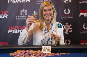 Jackie Glazer Ladies Event 1 WSOP Europe 2013