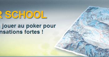 Reprenez le chemin de l'école avec l'Everest Poker School
