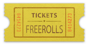 tickets freerolls gratuits poker
