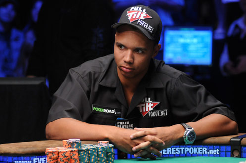 Poker face de Phil Ivey