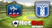 Code promo Netbet France – Honduras