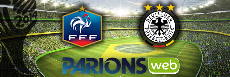 France Allemagne quart finale coupe du monde 2014