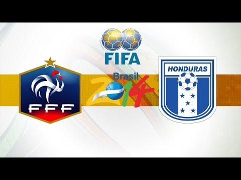 Match France - Honduras