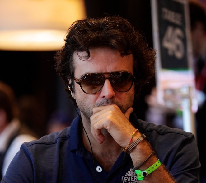 Fabrice Soulier dans la Team Everest Poker