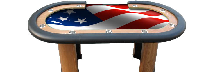 table poker americain