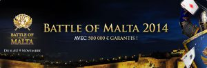 tournoi everest poker battle of malta prizepool de 500 000€ garantis
