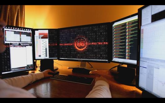 Configuration multi-écran pour grinders