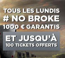 Betclic Lundis No Broke