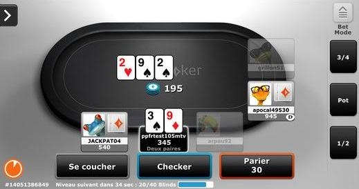 Capture App iPhone Party Poker