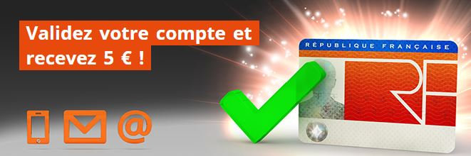 Validation compte Party Poker