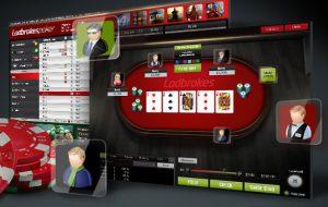 ladbrokes poker table