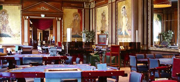 Poker room du casino d'Enghein