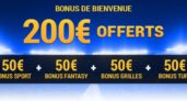 Code Promotionnel France-Pari : tapez FPGDPMAX et touchez 200€