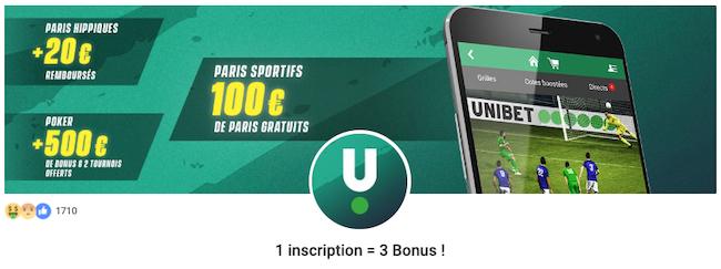 Offre poker Unibet nouveaux joueurs