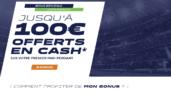 Bonus Parions Sport en Ligne : jusqu'à 150€ offerts
